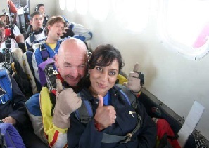 1st skydive