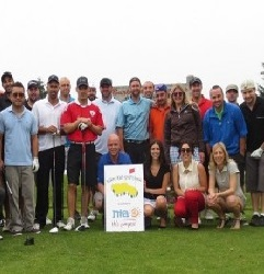 Fundraise page - golf